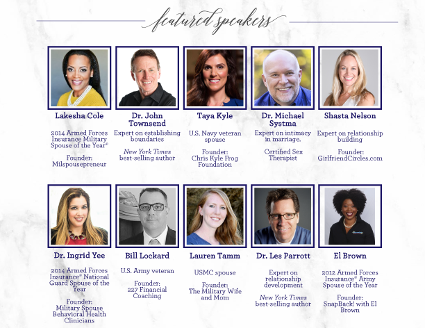 featured speaker lineup