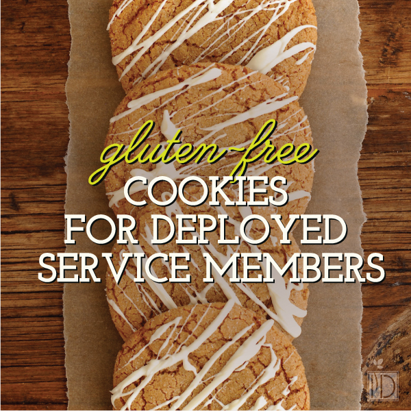 Gluten-Free Cookies for Deployed Service Members