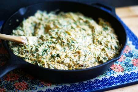 kale creamed