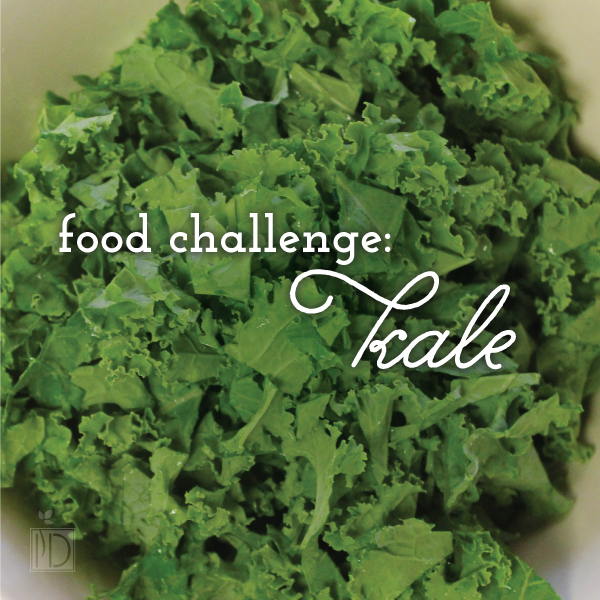 Food Challenge: Kale