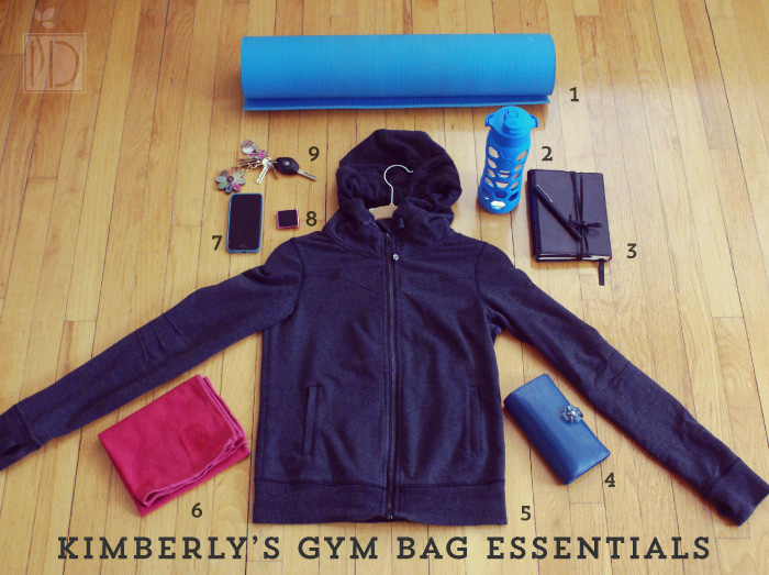 Kimberly's Gym Bag