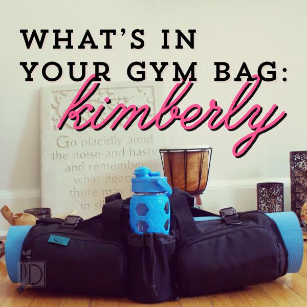 Kimberly's Gym Bag