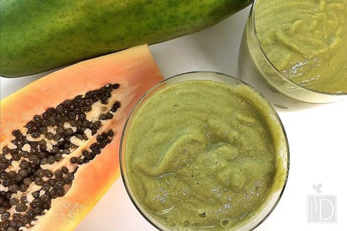 Papaya Kale Smoothie