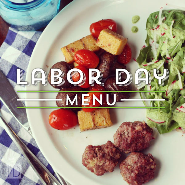 Plan your Labor Day Party Menu with these delicious dishes