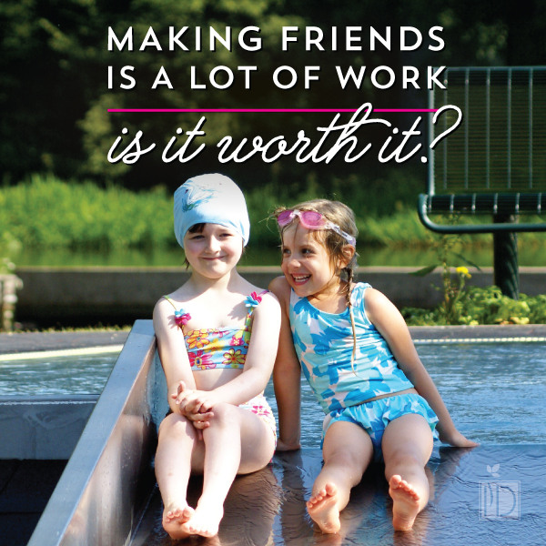 Making Friends Takes a Lot of Energy. Is It Worth It?