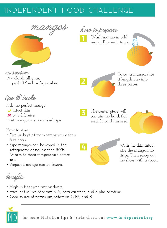 Food Challenge:  Mangos