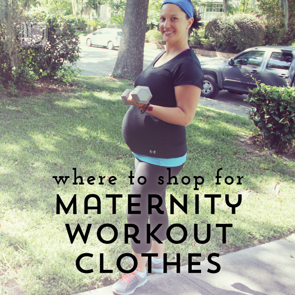 maternity workout clothes pin