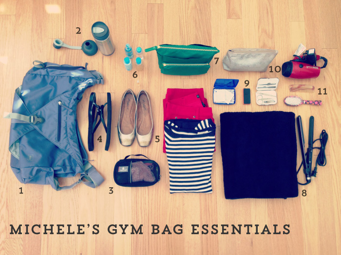 Michele's Gym Bag Essentials