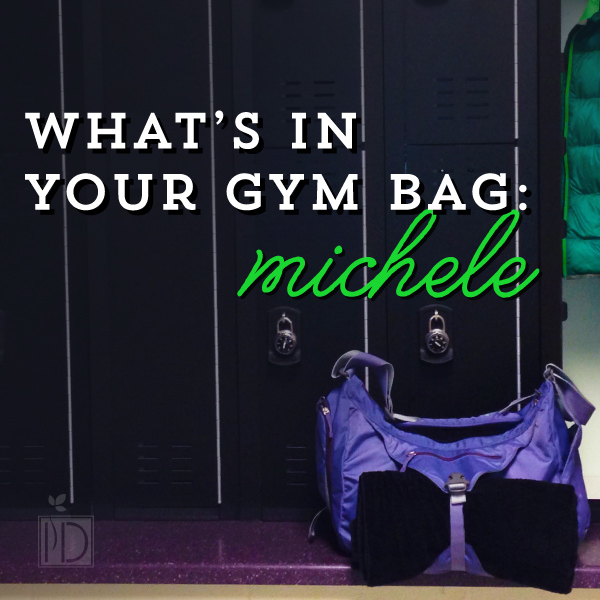 What's in your gym bag: Michele