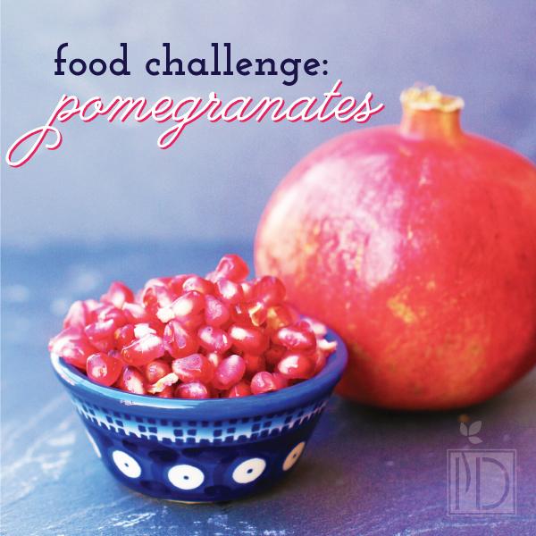 Food Challenge:  Pomegranate