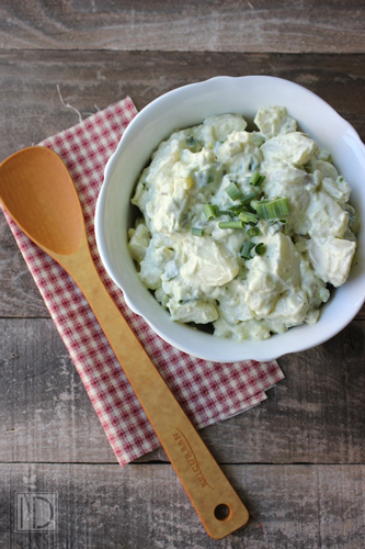 Potato Salad via Vibrant Life Army Wife