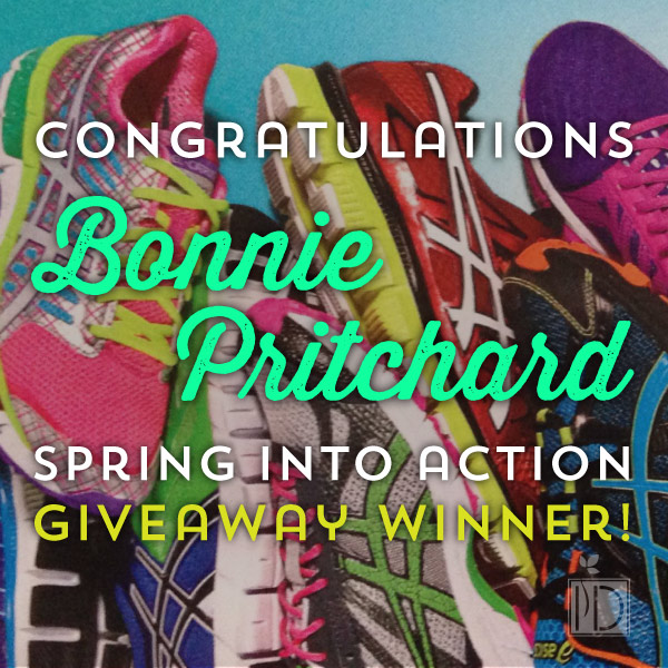Spring Into Action Giveaway Winner