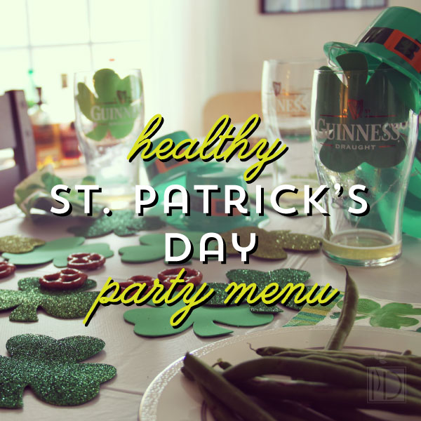 Healthy St. Patrick's Day Menu