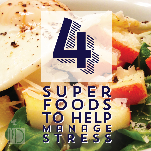 4 Super Food to help Reduce Stress