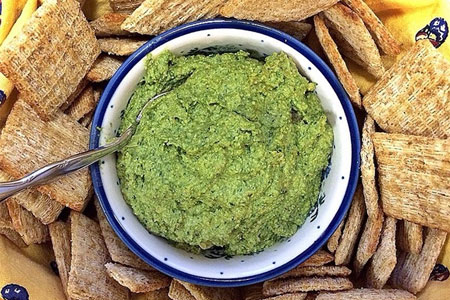 superbowl pesto