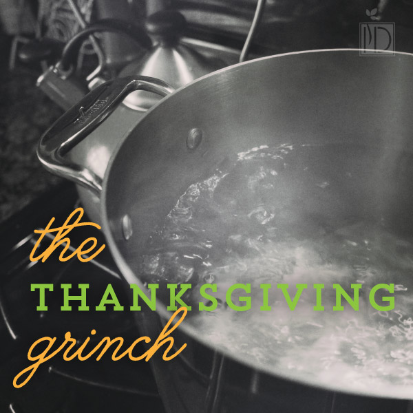 The Thanksgiving Grinch
