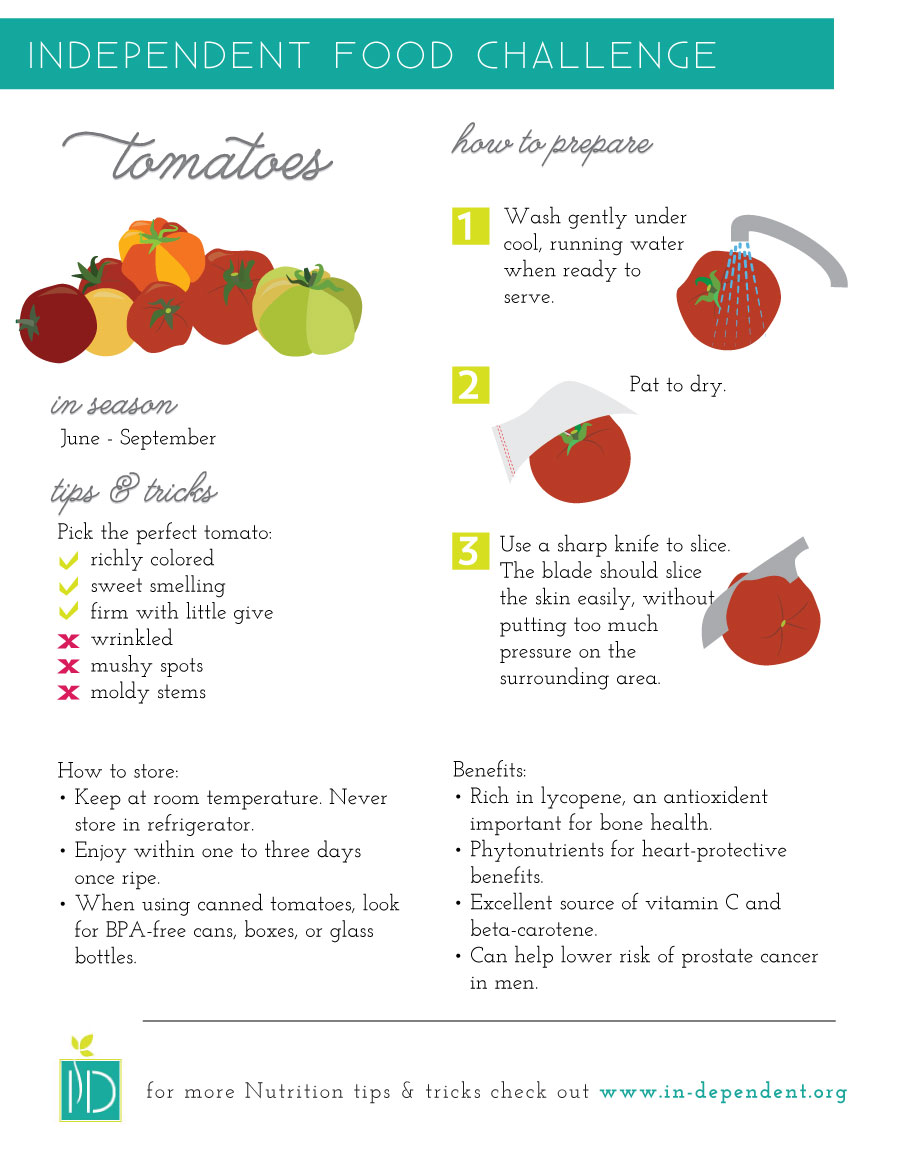 How to Prepare and Store Tomatoes