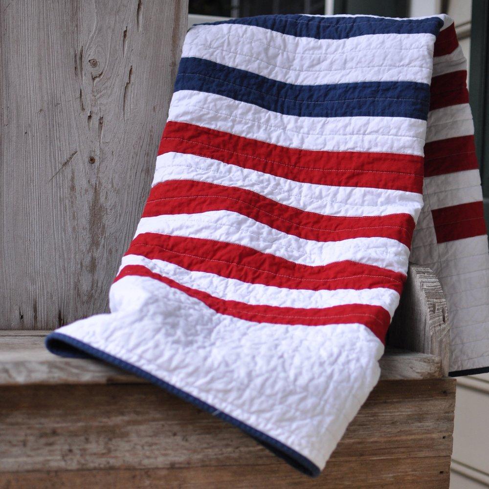 Handmade Throw Blanket - Courtesy of Julie Benson Handmade