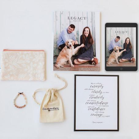 Legacy Gift Basket - courtesy of Legacy Magazine