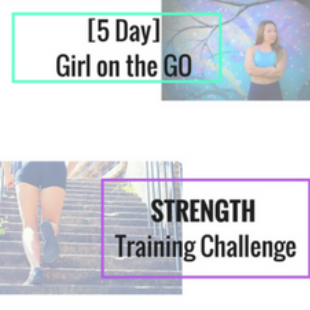 girl on the go strength training digital download - Release the overwhelm and ignite a stronger youcourtesy of Cassie Lynn Lambert