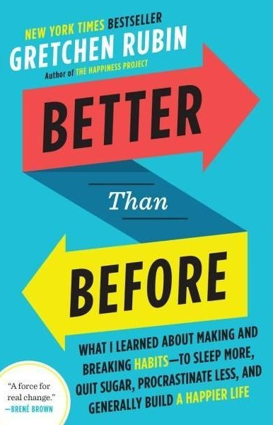 better than before - by Gretchen Rubin