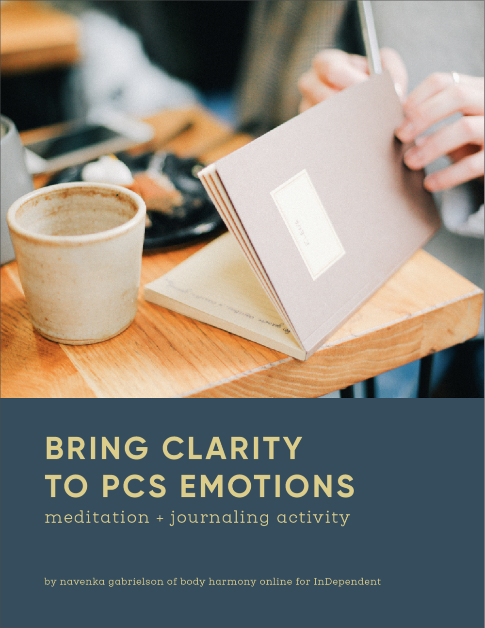Bring Clarity to PCS Emotions workbook - by Navenka Gabrielson of Body Harmony Online
