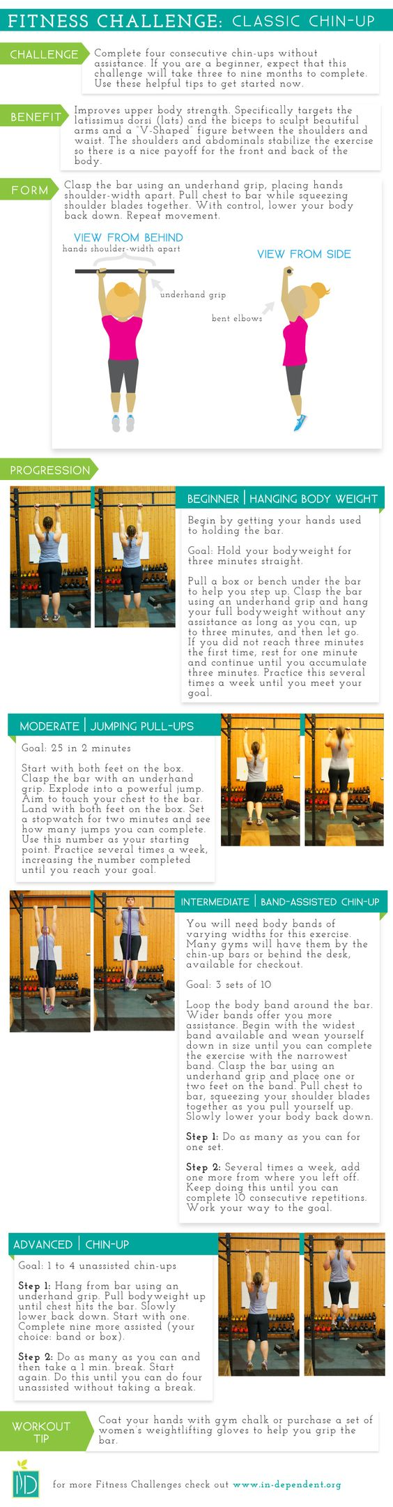 FITNESS CHALLENGE: CLASSIC CHIN-UP