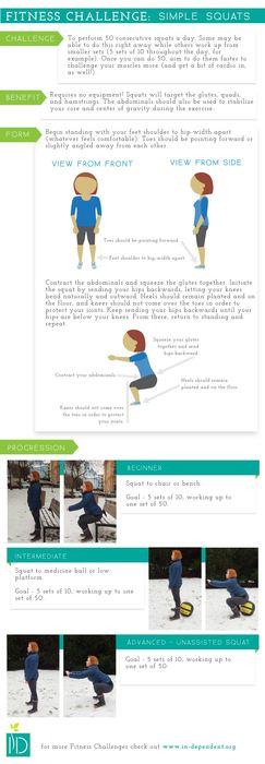Fitness Challenge: Squats
