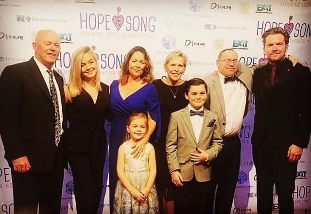 Amazing night on Tuesday for the @hopesongnashville gala @theeastivymansion Big thanks to all who helped, attended, performed. It means more than you know.