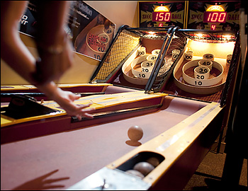 milwaukee skee ball game rental