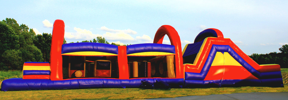 Milwaukee inflatable obstacle course rental
