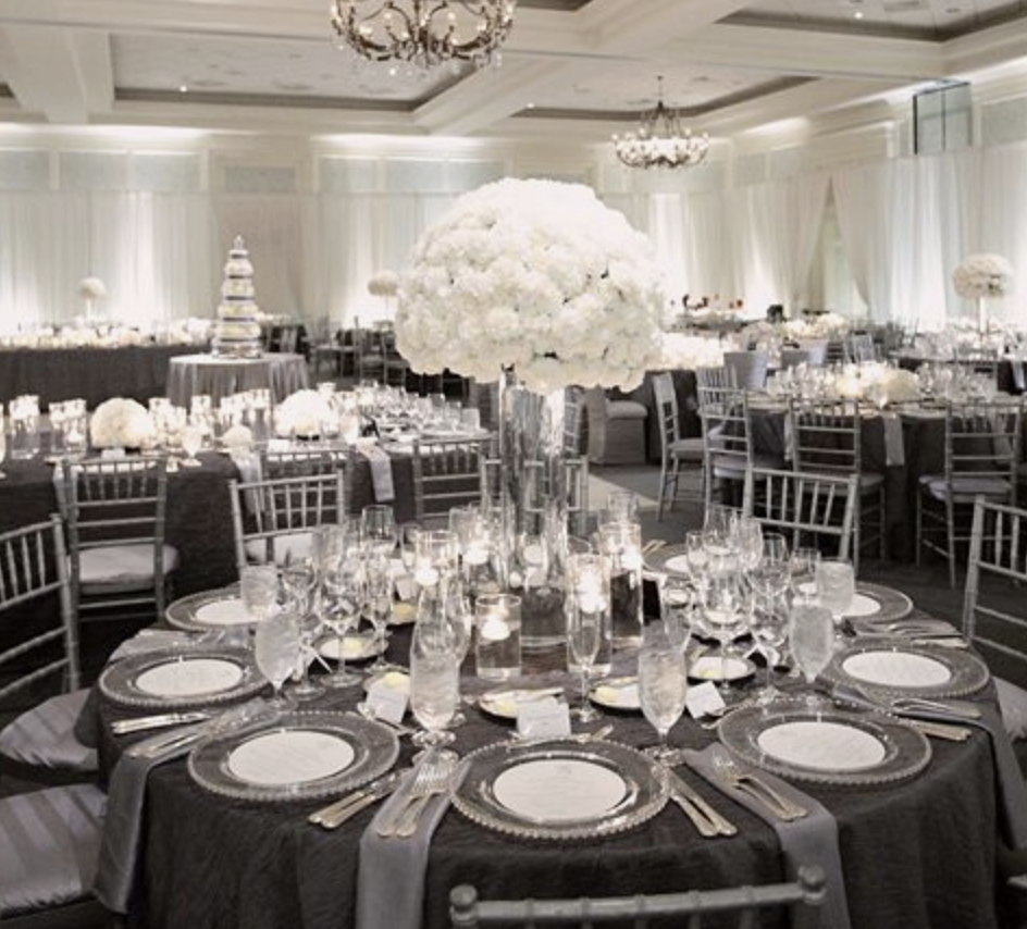 Silver chiavari chair rental in Milwaukee and Madison Wisconsin