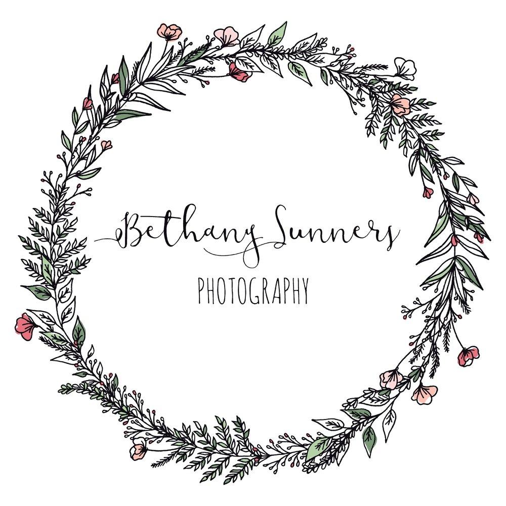 Bethany Sunners logo bethanysunnersphotography.com