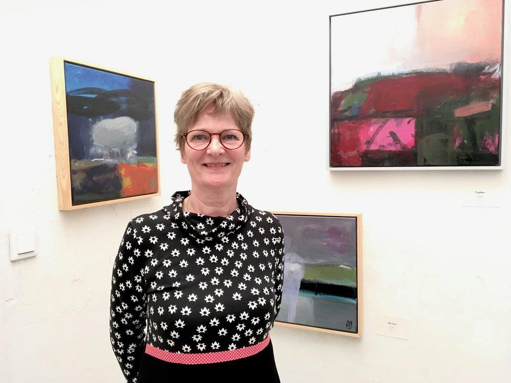 Lise Tuxen in der Galerie Berg Klein