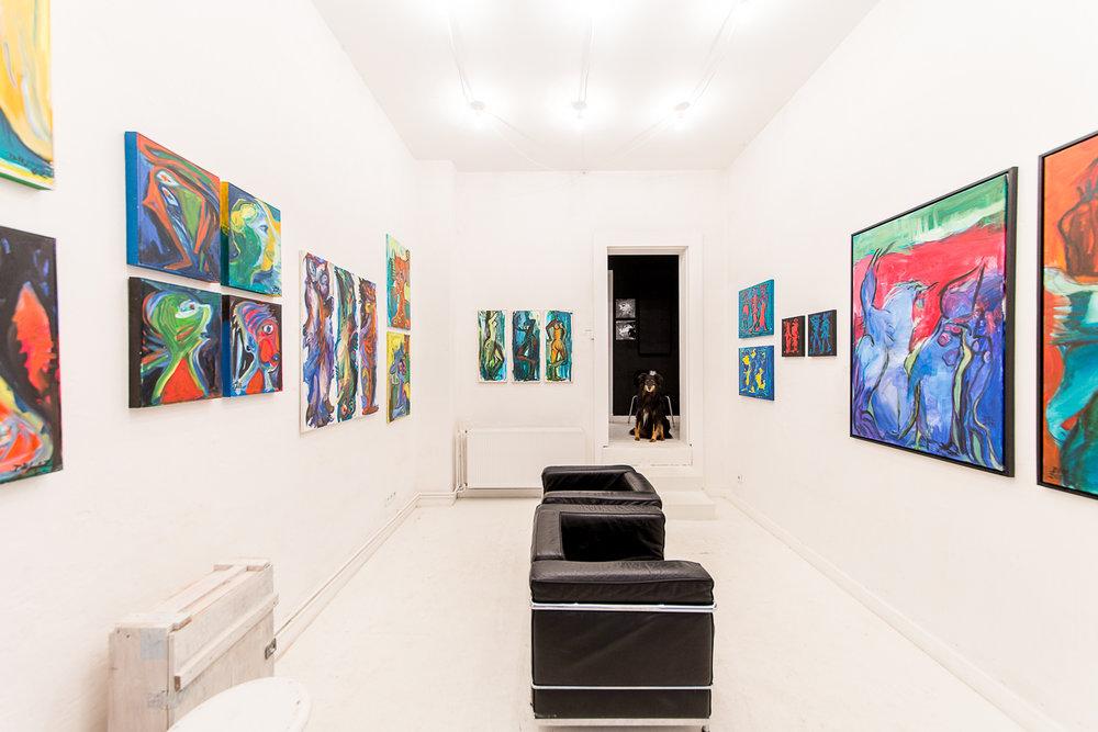 """Die Galerie Berg Klein zeigt Werke der Malerin Doris Rüstig-Ladewig """"In Bewegung"""""""