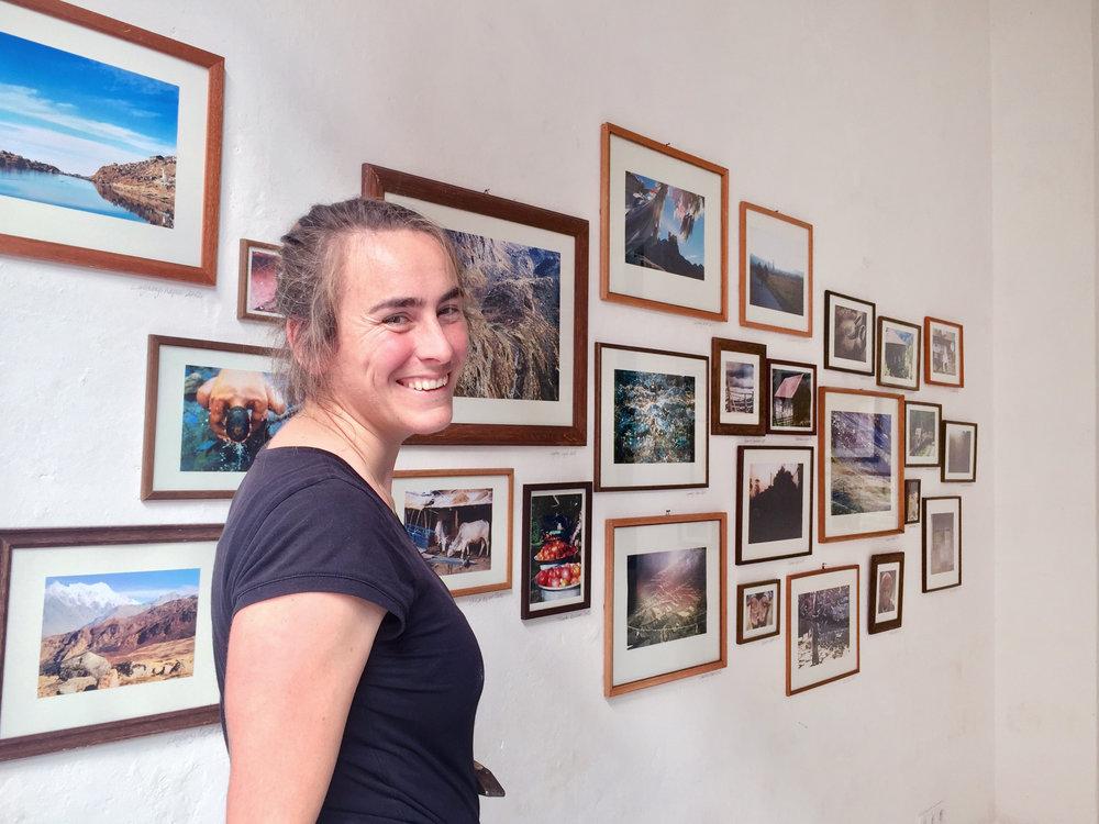 Pirkko-Lisa Klein in der Galerie Berg Klein