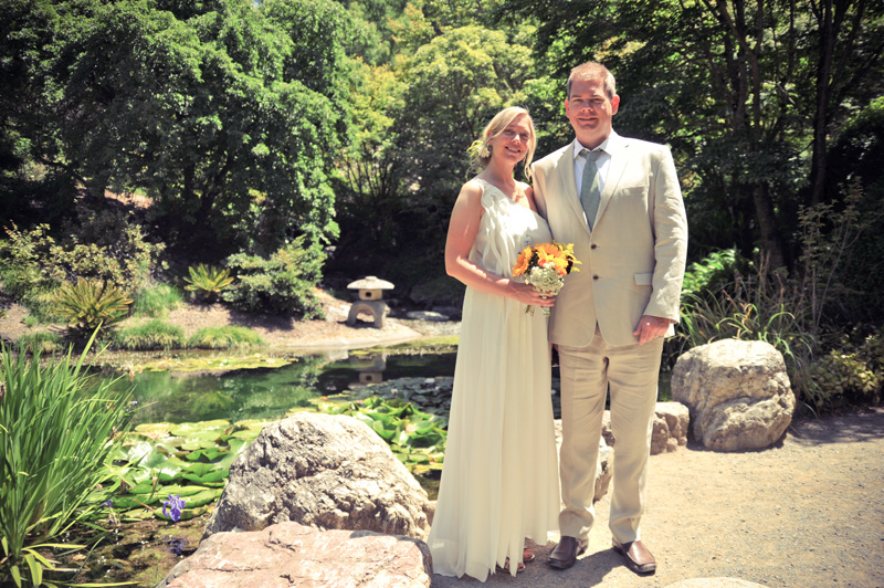 Erica and Jim - U.C. Botanical Gardens - Berkeley, CA
