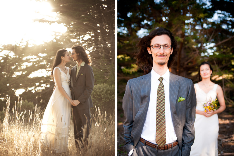 Shirley and Aaron's Wedding, Sea Ranch, CA - Bay Area Wedding Photographer