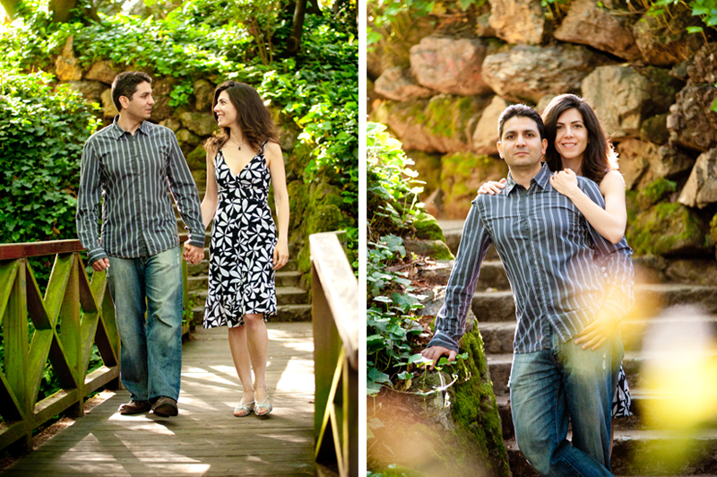 Engagement session at U.C. Berkeley Campus