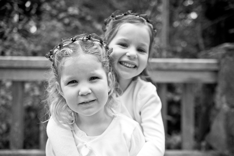 Flower girls in Piedmont Park