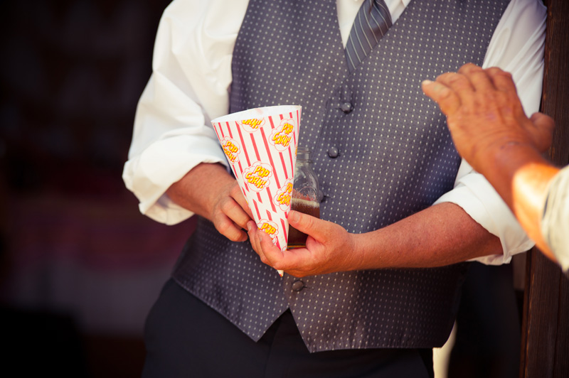 Popcorn cone detail