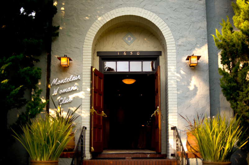 Entrance to Montclair Women's Cultural Arts Club