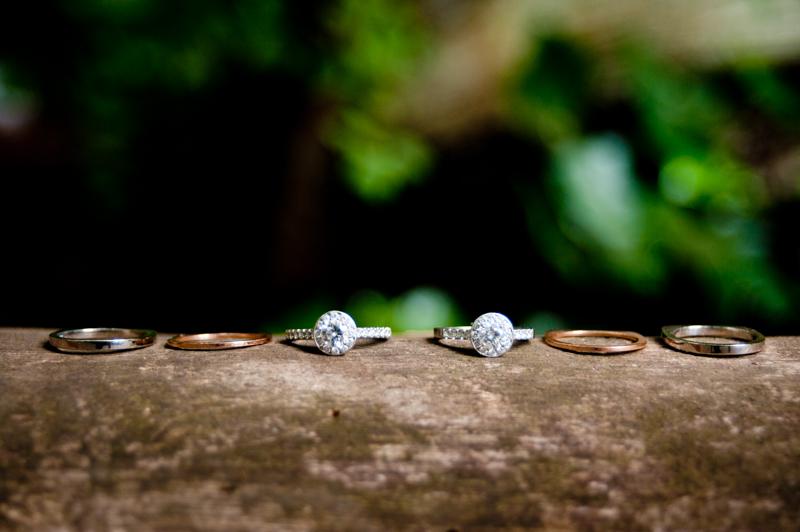 Wedding rings in Stern Grove