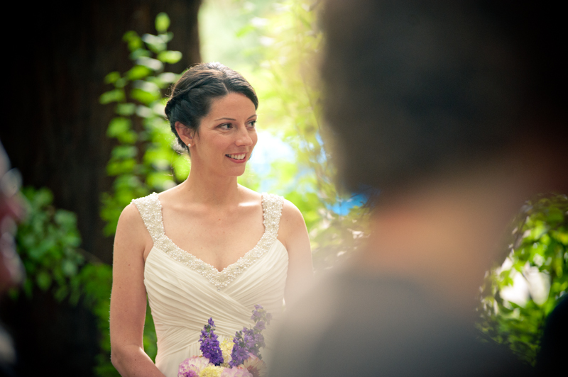 Bride seeing bride for the first time