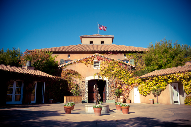 Detail of Viansa Winery in Sonoma, CA