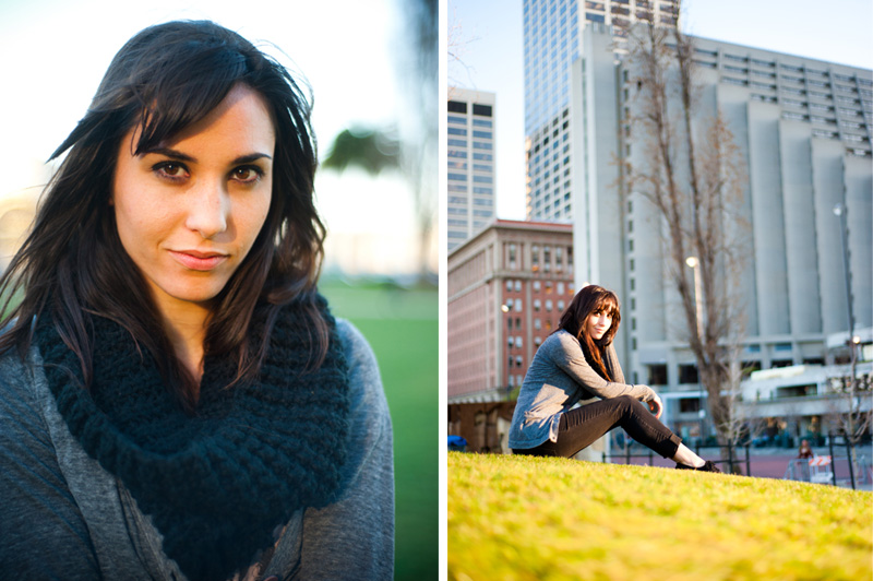High school senior portraits in San Francisco