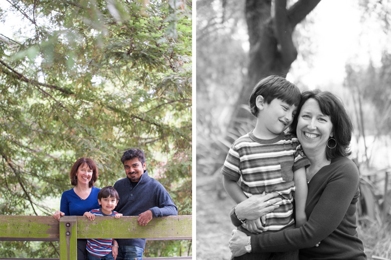 Family photos in Oakland at Lake Temescal