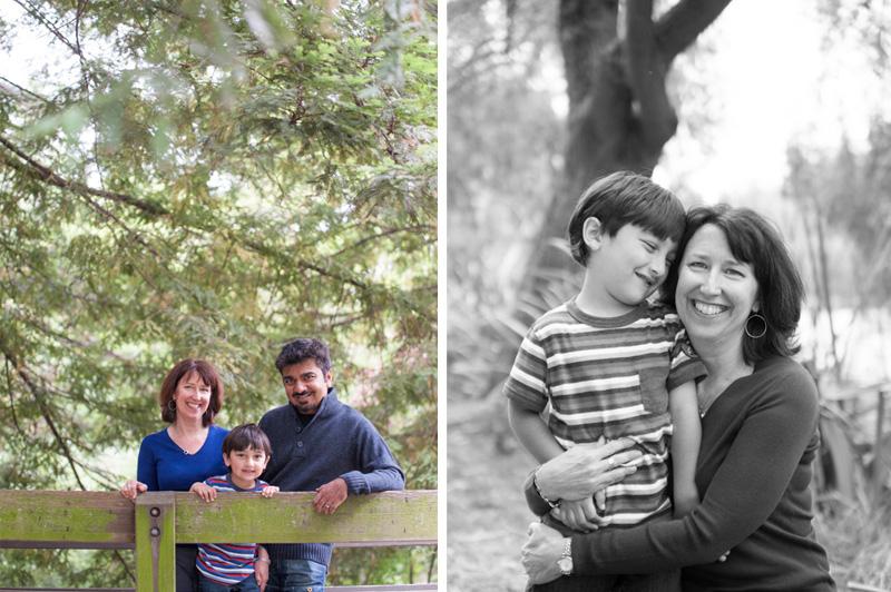 Family photos in Oakland at Lake Temescal