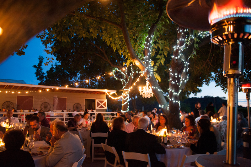 Wedding reception at Diablo Ranch