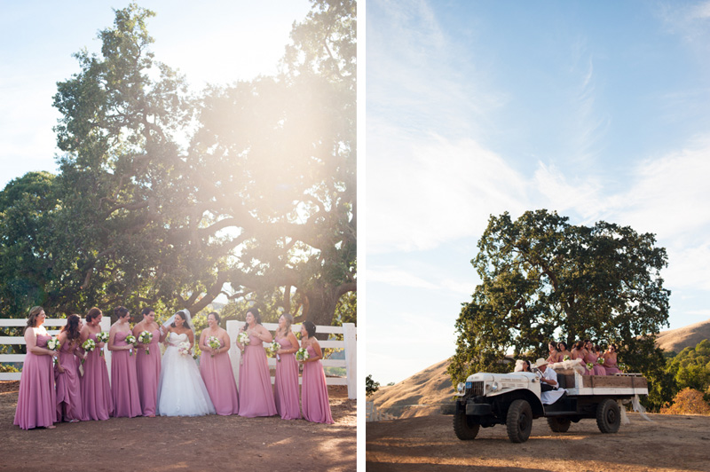 Bridal party on Mt. Diablo